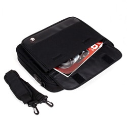 Elite Travel 17-inch Black Laptop Briefcase