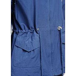 Larry Levine Women's Classic Anorak Jacket