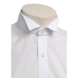 Joseph Abboud Men's Black Tie Wing Collar Formal Shirt