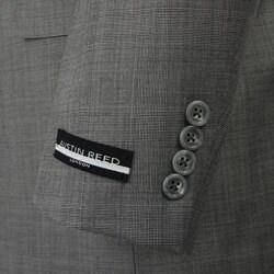 Austin Reed Men's Black and White Plaid Suit