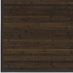 Hand-woven Patras Natural Fiber Bamboo Rug (5' x 8')