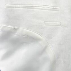 Adolfo Men's 2-piece White Linen Suit