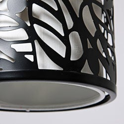 Metal Leaf Pendant Light