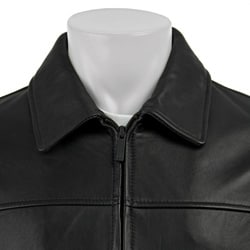 Kenneth Cole Reaction Men's Leather Jacket