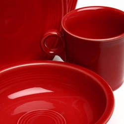 Fiesta Red 16-piece Dinnerware Set