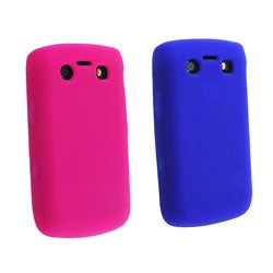 Eforcity Silicone Skin Case for Blackberry Bold 9700