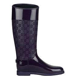 New Gucci Rubber Waterproof Rain Boot  Nordstrom