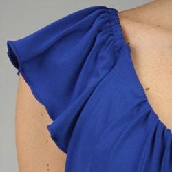 Essentials by Milano Women's Tiered Ruffle Shirt