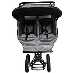 BeBeLove Double Jogging Stroller in Grey
