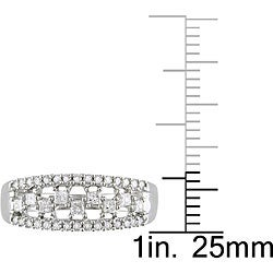 10k White Gold 1/2ct TDW Diamond  Ring (H-I, I2-I3)