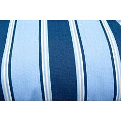 Blue Stripe Outdoor Cushions (Set of 2)