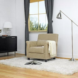 Marquis Tan Microfiber Club Chair