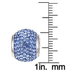 Signature Moments   Crystal December Birthstone Bead