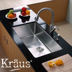 Kraus Stainless Steel Kitchen Sink Basket Strainer