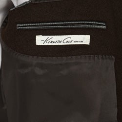 Kenneth Cole New York Men's Wool/Cashmere Blend Coat