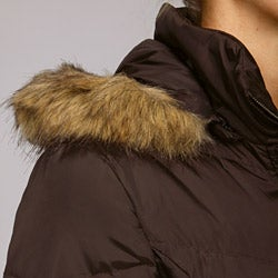 London Fog Women's 3/4-length Down Coat