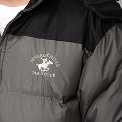 Beverly hills polo club men s puffy coat 12914972 overstock com