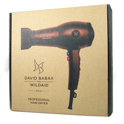 David Babaii for WildAid by FHI Heat Ceramic Tourmaline 1900w Dryer