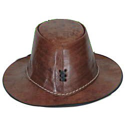 Leather Safari Hat (Morocco)