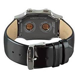 Philip Stein Women's 'Signature' Black Patent Leather Strap Watch 1-F-FSMOP-LB