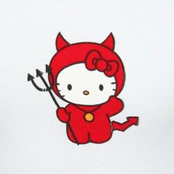 Hello Kitty Girls Little Devil Kitty Shirt