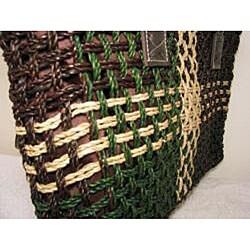 Handmade Agel Leather Handbag (Indonesia)