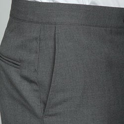 Sansabelt Men's 4 Seasons Grey Flat-front Slacks