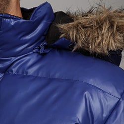 MICHAEL Michael Kors Men's Faux Fur Hooded Puffer Coat