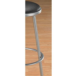 Modern Metal Bar Stools (Set of 2)