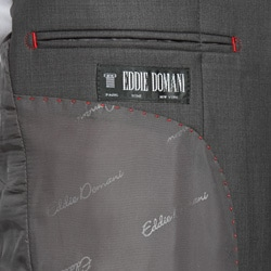 Eddie Domani Men's 3-button Suit