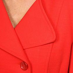 Katherine Barclay Women's Red Peacoat