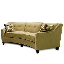 Taylor Beige Curved Sofa