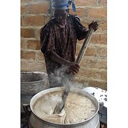 Black Soap Body Wash/ Shea Butter Moisturizer Small Gift Set (Ghana)
