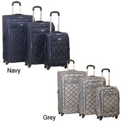 Wisdom Fashion 3-piece Expandable Luggage Set