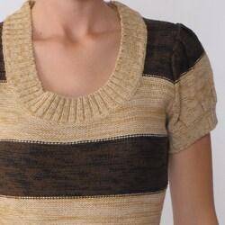 Ci Sono by Adi Juniors Striped Sweater