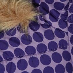 Dollhouse Toddler Girl's Polka Dot Puffer Jacket