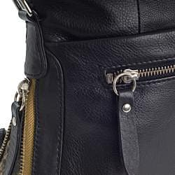 Michael Rome Leather Satchel