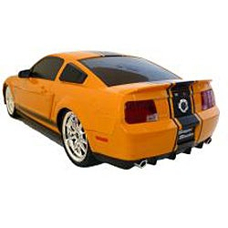 Remote Control 118 scale Orange Ford Mustang Cobra