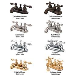 Restoration Classic Two-handle Bathroom Faucet