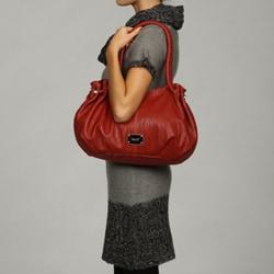 Nine West Faux Leather Hobo Bag