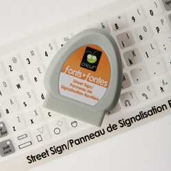 Cricut Solutions 'Street Sign' Cartridge