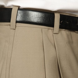 Austin Reed Men's Tan Pleated Dress Pants