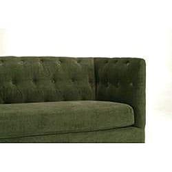 Green Chenille Sectional Sofa Modern Green Chenille Sofa Overstocktm Shopping Great