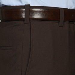 Austin Reed Men's Brown Flat Front Dress Pants