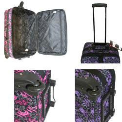 Concord Designer Expandable 4-piece Luggage Set