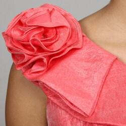 Jessica Howard Women's One-shoulder Sheath Dress