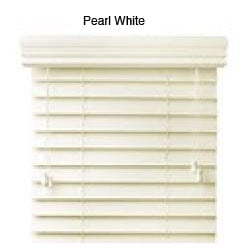 Faux Wood 34-inch Blinds