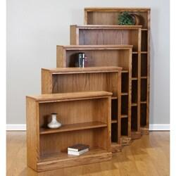 Castleton 50-inch Mission Oak Bookcase