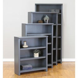 Bailey 72-inch Driftwood Bookcase