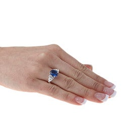Sterling Essentials Sterling Silver Cubic Zirconia Cocktail Ring